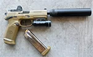 FN 45 Tactical Suppressor