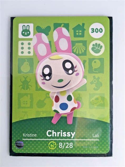 Series 3 amiibo animal crossing happy home designer card. Pietro Chrissy and many Rares   Animal crossing, Chrissy, Amiibo