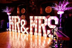 Light up letters for hire mighty fine entertainment for Marry me light up letters