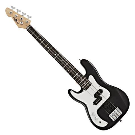 la left handed bass guitar  gearmusic black
