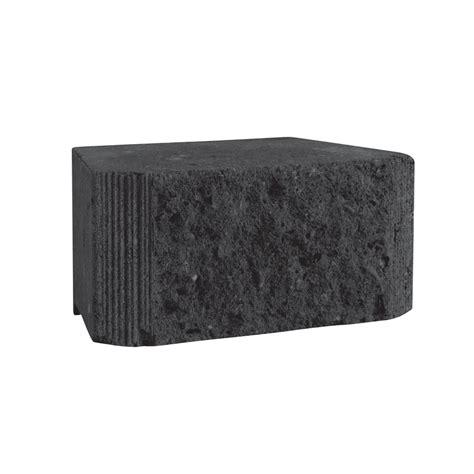 Brighton Retaining Wall Blocks by Brighton Masonry 210 X 145 X 100mm Charcoal Eziwall