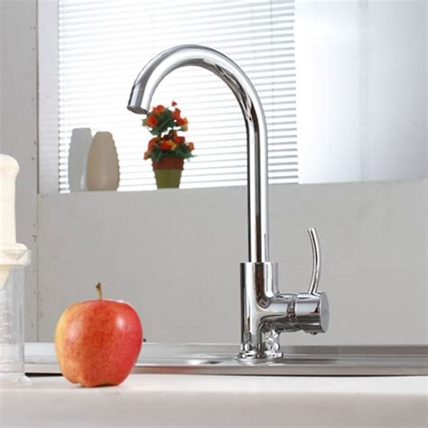 Stainless Steel Lead Free Kitchen Faucet (25080701ls