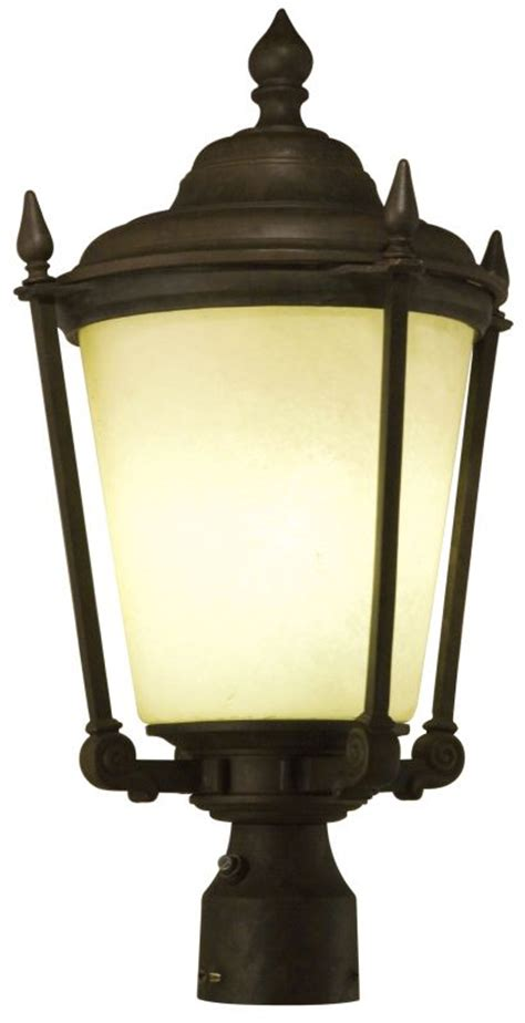 lithonia lighting odpt12 bz antique bronze kingsly outdoor