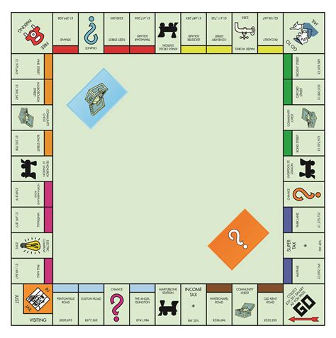 monopoly board monopoly through the years barratt homes