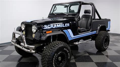 3849 Cha 1982 Jeep Cj8 Scrambler