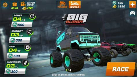 monster truck race game monster truck racing