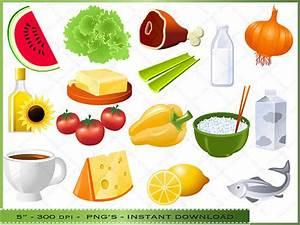 Printable Healthy Food Clipart