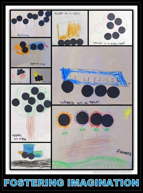 fostering imagination  children dots spots  circles