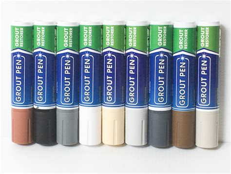 grout pen colors grout pens 10 pack of custom colours 15mm bullet nib
