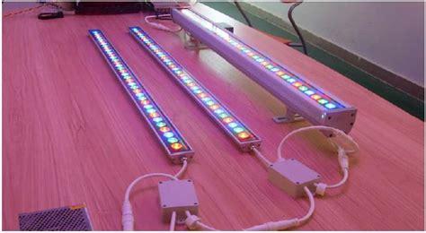 led rgb wall washer light dmx