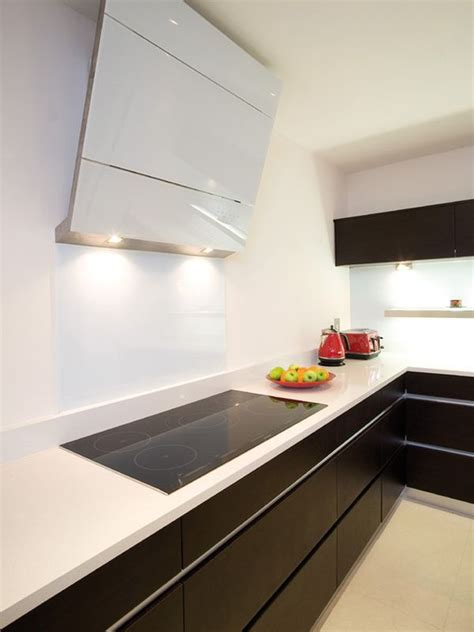 induction cooktop kitchen interiors