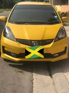2012 Honda Fit Rs Yellow With 6 Speed Manual For Sale In