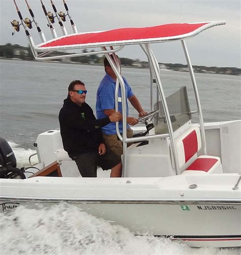 Used T Tops For Center Console Boats by Center Console T Tops Custom T Tops Boat T Tops
