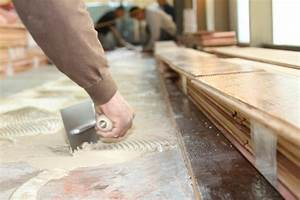 Installing a hardwood floor the preparation process top for How to put down hardwood floors on concrete