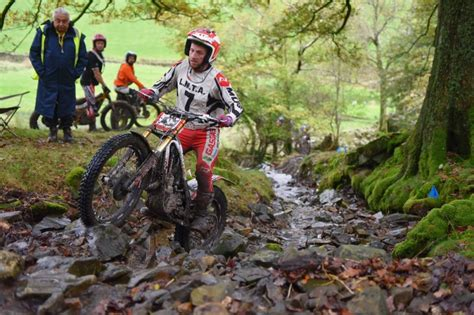 trials and motocross news roberts takes lakes two day trial trials and motocross news