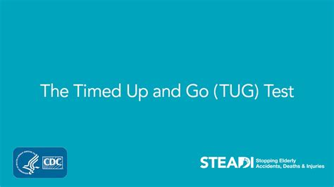 up test the timed up and go tug test
