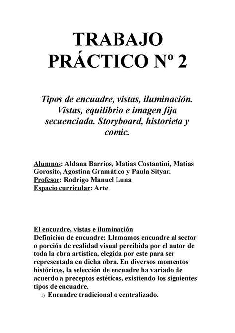 Calaméo - Trabajo Práctico Nº 2 - Arte