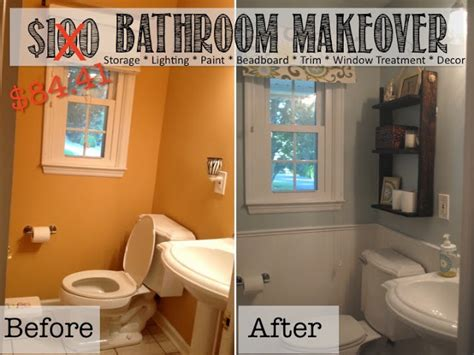 Diy Small Bathroom Makeovers by Home Makeover Ideas 25 Diy Projects To Update Your Home