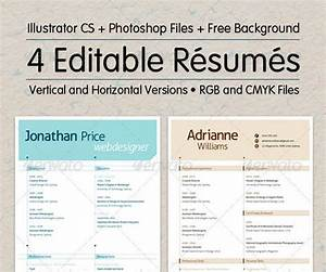 10 high school resume templates free pdf word psd for Editable resume template pdf
