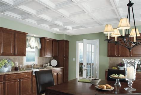 Suspended Coffered Ceiling by Coffered Ceiling Ceilings Armstrong Residential