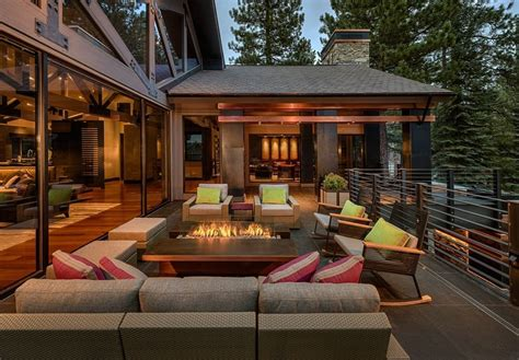 fire pit ideas deck contemporary  patio outdoor lounge