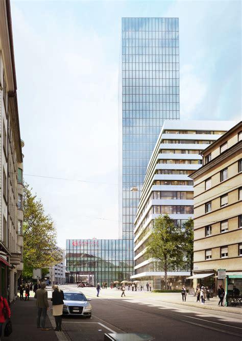 Zurich Präsentiert Pläne An Der Rosentalstrasse Soll Ein