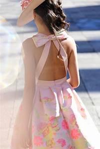 vestido de fiesta de vuelo asimetrico estampado escote espalda y