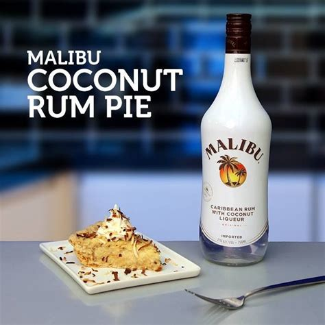 The heady, sugary warmth of rum in all its incarnations, plus the in a caribbean queen, quality rum joins a refreshing blend of pineapple and coconut water, made zippy with lime juice and elevated with fresh. Malibu Coconut Rum Pie | Malibu rum drinks, Coconut rum ...