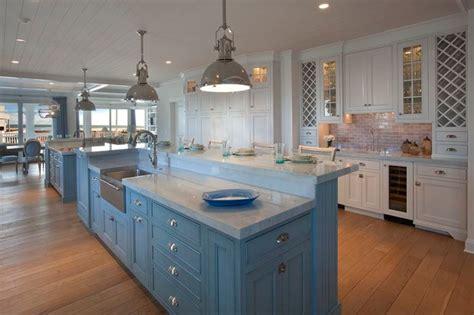 beach house beach style kitchen  metro