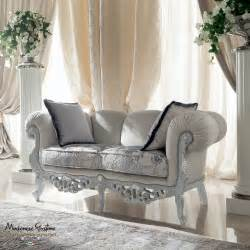 Ivory Sitting Room With Impero Style Furniture And Silver