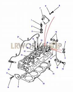 Cylinder Head Components - 2 5 Td