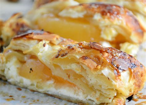 easy apple cheese strudel savory experiments