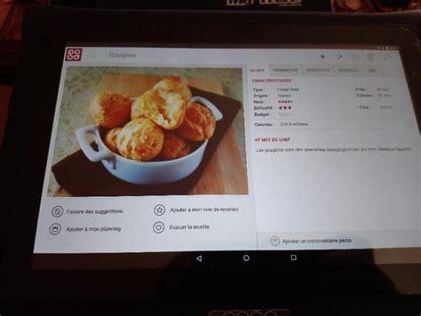 tablette recette cuisine mes recettes de cuisine avec la tablette qooq