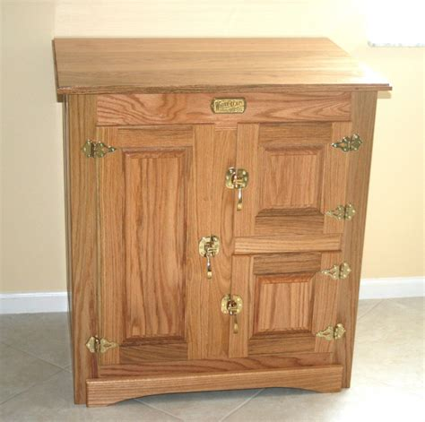 antique ice box finewoodworking