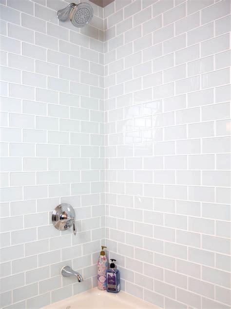 install  shower tile wall hgtv