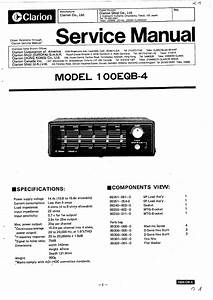 Clarion Vz401 Wiring Diagrams    Wiring Diagram