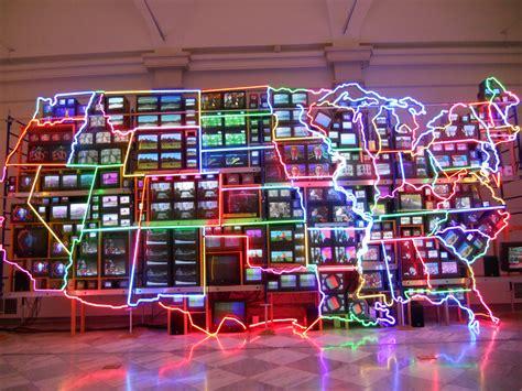 neon map of us cool katelynadam