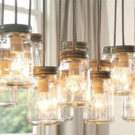 diy jar pendant lights household ideas