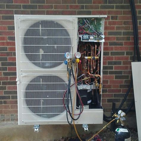 Mitsubishi Glenview by Mitsubishi Mini Split Installation In Glenview Hooked Up