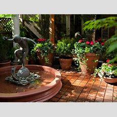 Mediterraneanstyle Garden  Amber Freda Hgtv