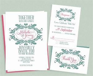 wedding invitation templates free download theruntimecom With wedding invitations design software free download