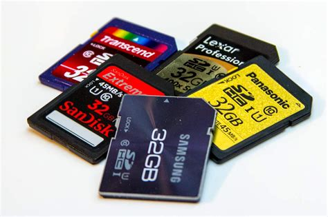 Memory Cards (class Of Sd Cards Explained