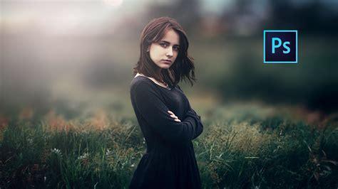 photoshop cc tutorial outdoor portrait edit girl