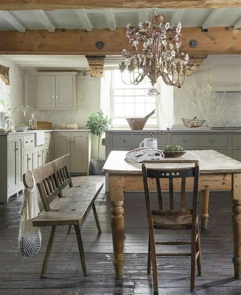 rustic english country kitchen design inspiration