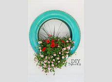 DIY Tire Planter TutorialDIY Show Off ™ – DIY Decorating