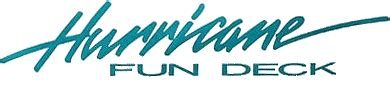 Hurricane Boats Logo by Hurricane Boat Decals