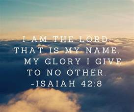 Glory to God in the Bible