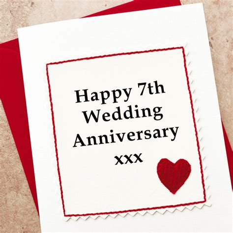 handmade  wedding anniversary card  jenny arnott