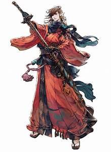 Samurai From Final Fantasy XIV Stormblood Character