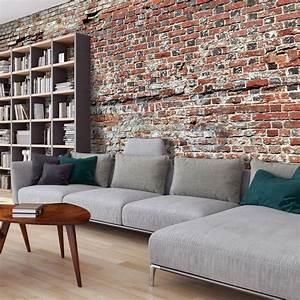 Wand Mit Steinoptik : vlies fototapete 500x280 cm top tapete wandbilder ~ Watch28wear.com Haus und Dekorationen